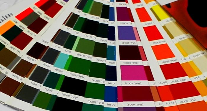 RAL Barvna Paleta